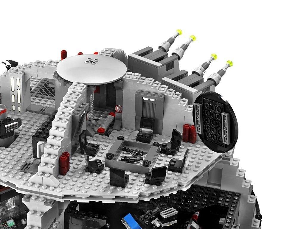 05035 Star Wars Combattant Série Death Star Doctrine Tarkin Blocs De Construction 3081 pièces Briques Jouets Cadeau Pour Enfants 10188-in Blocs from Jeux et loisirs    3