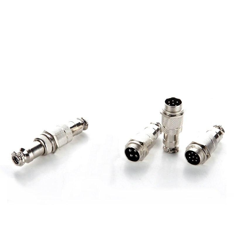 Male Plug Docking Plug GX12 Aviation Circular Connector  2 Pin Plug 3pin4pin 5pin6pin7pin 12mm Butt Plugs RS765