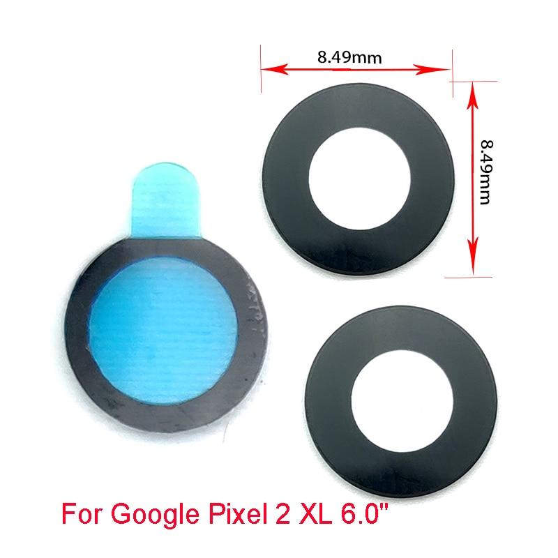 2Pcs/lot, Rear Camera Glass Lens For Google Pixel 2 XL 5.0