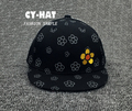 Fashion Embroidery Flower Hat Baby Flag Snapback Hats Boy Girls Baseball Cap Child Autumn Casual Adjustable Baseball Hats