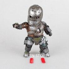 """Alen Железный человек 3 Mark 1 Яйцо атаки ПВХ фигурку со светодиодной подсветкой Коллекционная модель игрушки 8 """"20 см"""