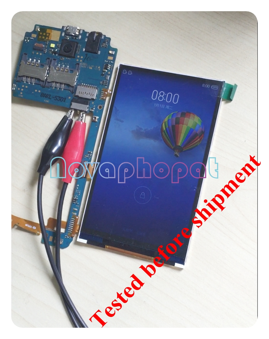 Novaphopat 100% Tested LCD Screen For Philips S309  LCD Display Replacement Screen + Tracking|Mobile Phone LCD Screens| |  - title=