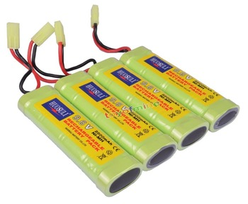 4pcs 9.6V NiMH 2800mAh Rechargeable Battery Pack RC