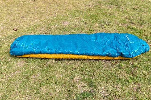 2018 New AEGISMAX Ultralight Sleeping Bag Nano Nano2 800FP Goose Down Mummy Outdoor Camping Adult winter Sleeping Bags