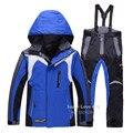 Crianças/Crianças Conjuntos de Inverno À Prova D' Água Esporte Ao Ar Livre Roupa de Esqui/Snowboard/Neve/Ski Jacket + Pants Roupas para Meninos/Meninas/Enfant