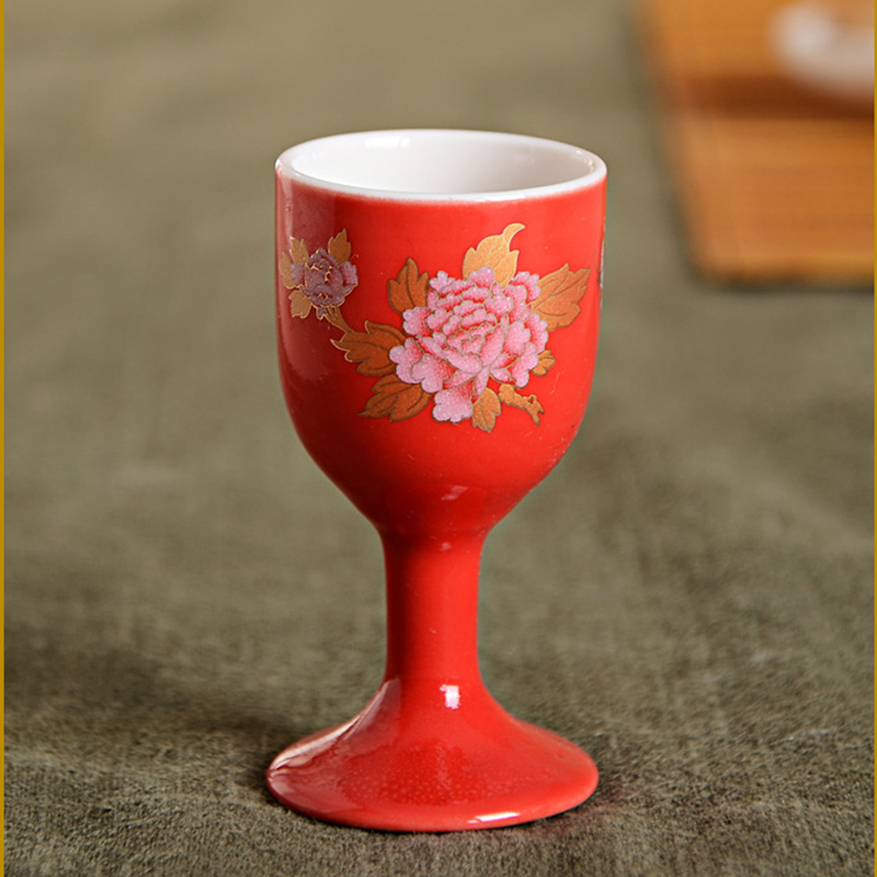 Chinese Traditional White Wine Cup Kung Fu Teacup Japanese
