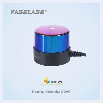 FaseLase Indoor and outdoor waterproof and dustproof TOF 2D 360 degree 30 meters industrial  lidar sensor for AGV ROBOT