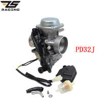 ZS Racing PD32J 32MM Motorcycle Carburetor Carburador For Kawasaki ATV KLF300 Bayou 300 Hond TRX300 350 400 450