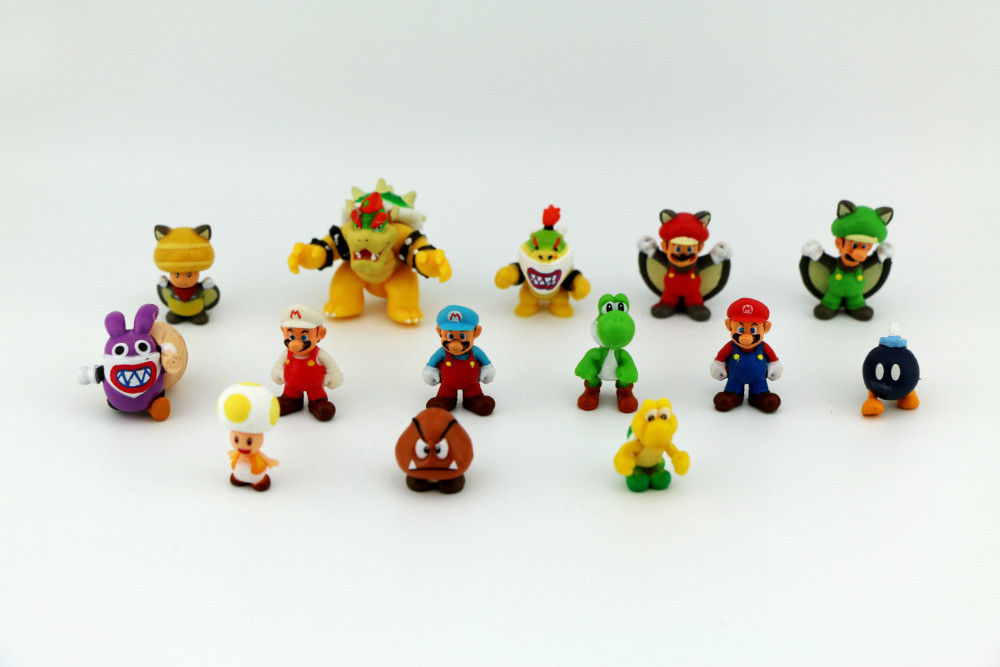 150pcs Set Mini Mario Figures For Capsule Toys In Action Toy From Hobbies On Aliexpress
