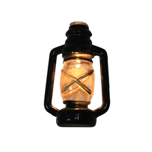 Antique Lantern Light String With Portable Battery Halloween Decor