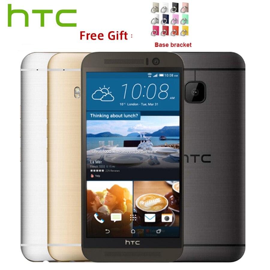 L'UE Version HTC One M9 4G LTE téléphone portable Octa Core 3 GB RAM 32 GB ROM 5.0 pouces 1920x1080 Double Caméra 20MP 2840 mAh SmartPhone