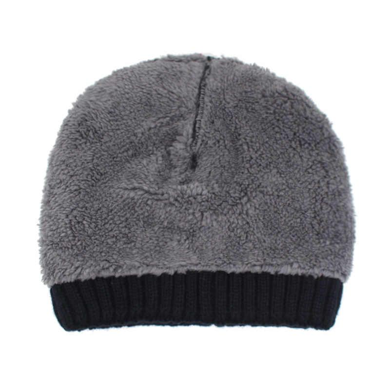 Youbome Fashion Winter Hoeden Voor Mannen Vrouwen Skullies Mutsen Mannen Gebreide Muts Mannelijke Caps Motorkap Warme Bont Merk Winter Beanie hoed Cap