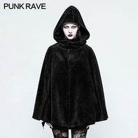 50a61a11702231 ... frauen Lolita Hexe Mit Kapuze Samt Kurzen Mantel WLY092DPF. Punk Rave  Black Gothic Fashion Casual Witch Classic Women Heavy Cloak Coat Jacket  OPY214