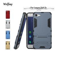 Wolfsay For Lenovo Zuk Z2 Case Slim Robot Armor Case For lenovo Zuk z2 Cover For Lenovo Zuk Z2 Case Shockproof Rubber Fundas!