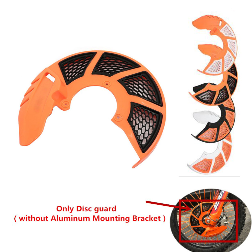 Front Brake Disc Rotor Cover Protector For KTM 125 250 300 350 400 450 SXF SX 2016-2018 EXC EXCF 2017 2018 2019