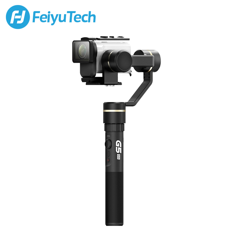 FeiyuTech Feiyu G5GS Gimbal 3-Axis Handheld Stabilizer for Sony AS50 AS50R Sony X3000 X3000R Camera Splash Proof for 130g-200g feiyu tech g5 3 axis handheld gimbal action camera stabilizer splash proof design for hero5 hero4 hero3
