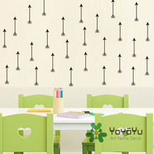 36 PCS PACK Arrows Kids Bedroom DIY Wall Sticker Home Nursery Removable Decor Mural Art adhesivo Decals NY-133