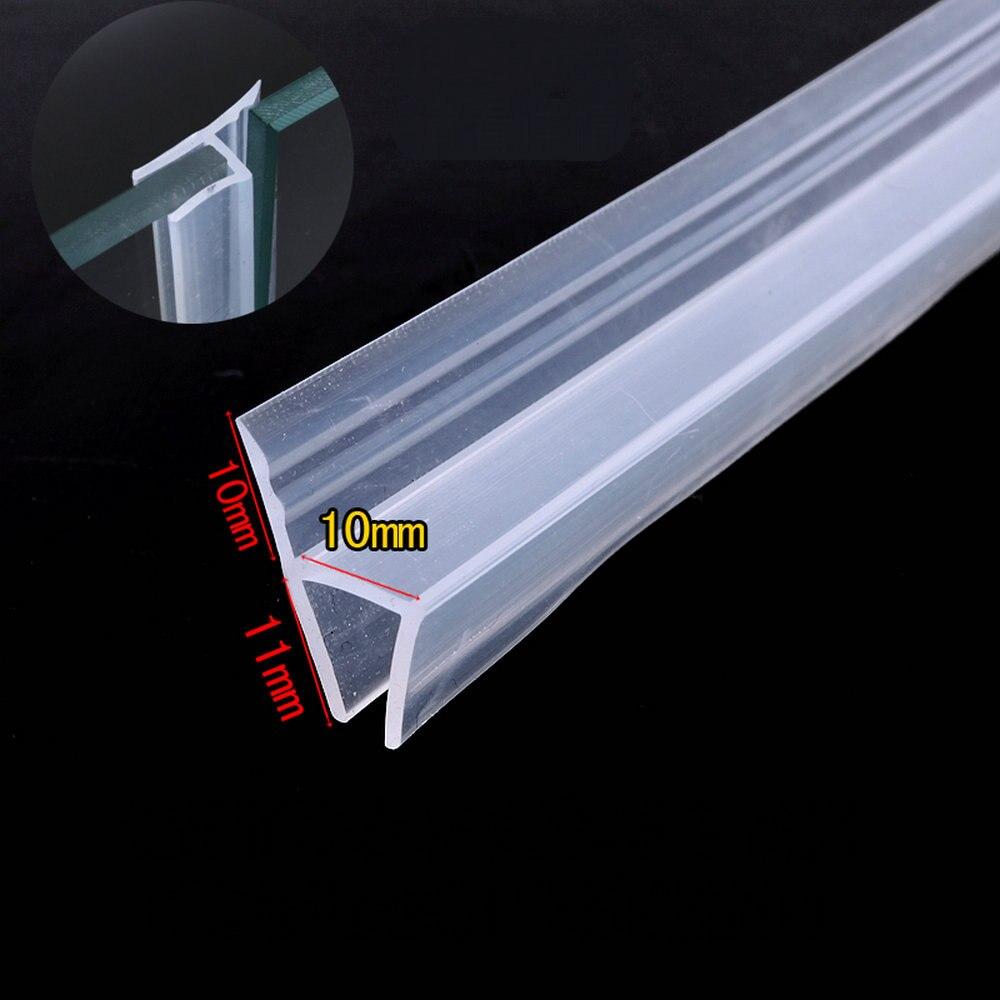 Weatherstrip Draft Stopper 10mm Glass Gliding Screen
