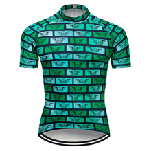 a30665005 2018 DKGEMN Unique Cycling Jersey Pro Team Green Bike Clothing Short Sleeve  MTB Bicycle Jersey Quick