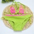 Девушки бикини детские купальники дети девушки купальники бикини установить купальники купальник дешевые китая одежда для SW091