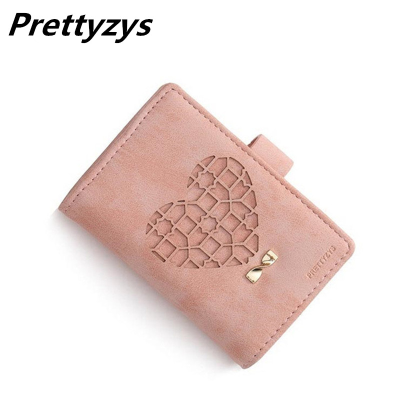 20 Card Slots Matte Pu Leather Women Card Holders Fashion Heart-shaped Hollow Credit Card Wallet Brand Lady Business Card Holder bovis 5102 02 casual man s pu credit name card wallet slots coffee