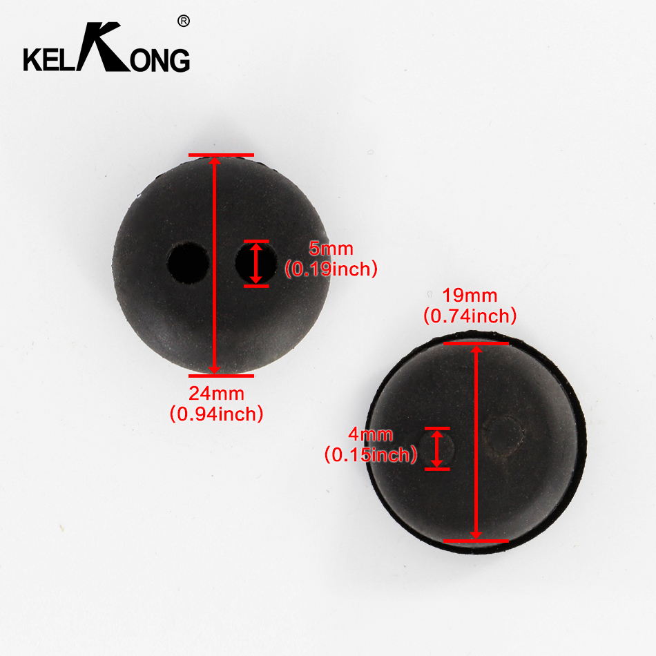 Image 3 - KELKONG 5PCS 2 Hole 20mm Rubber Grommet For String Craftsman Trimmer Lawn mower Chainsaw Blowers Brush Cutter Fuel Tank-in Carburetor from Automobiles & Motorcycles