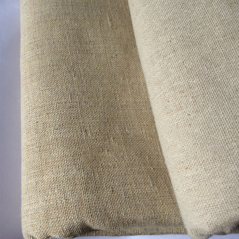 Tree Pattern Cloth Natural Cotton Linen Fabric Sewing Pillow curtain DIY Craft