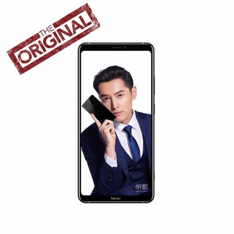 Huawei Honor Примечание 10 6 г 128 г 4G LTE телефон NFC Kirin 970 восьмиядерный смартфон Dual SIM 6,95 дюймов Android 8,1 сзади 24.0MP + 16.0MP