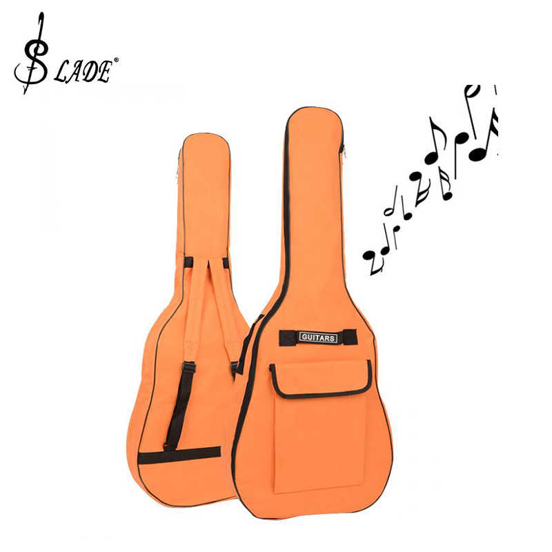 c9a0bb1aefa ... SLADE 40/41 Inch Oxford Fabric Acoustic Guitar Gig Bag Soft Case Double  Shoulder Straps ...
