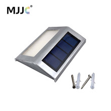 LED Solar Garden Light Wall Lamp Outdoor Solar Powered Pathway Lights for Yard Energy Saving Rechargeable Wall Street Lighting