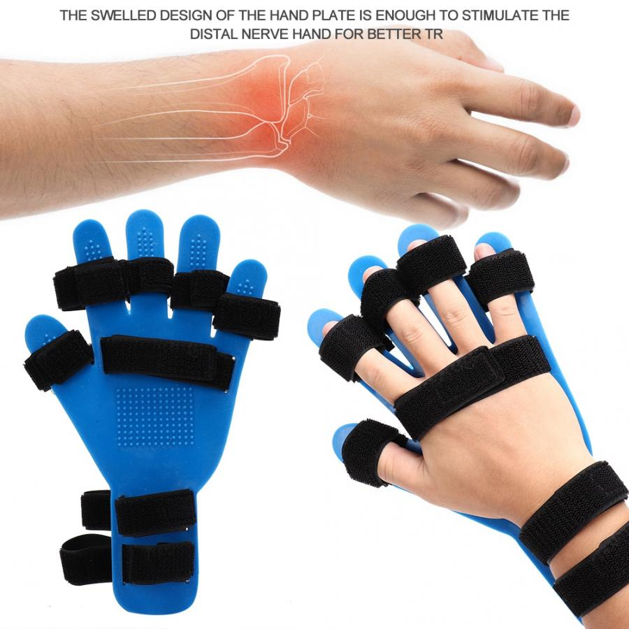 Image 5 - Finger Orthotics Extended Type Fingerboard Stroke Hemiplegia Hand Splint Training Support Finger Corrector BoardBraces & Supports   -