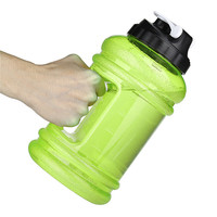 Hot Sale 2 2L Water Bottle Big Mouth PE TG Training Drink Kettle For Outdoor Picnic