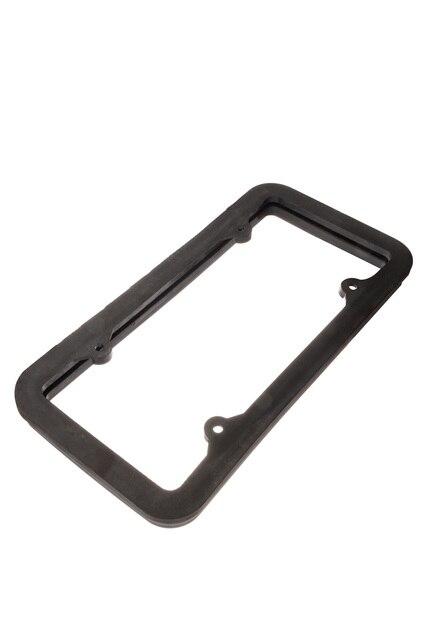 New Car Styling universal carbon fiber adjustable rotating number plate auto License plate frame license plate holder YA108