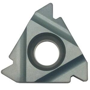 Image 5 - Твердосплавные вставки, CVD покрытие, резка стали и литая сталь, специальное предложение, 10 шт., 16ER 0,5/0,75/1/1/25/1.5/1/2/2/3/3/5 ISO