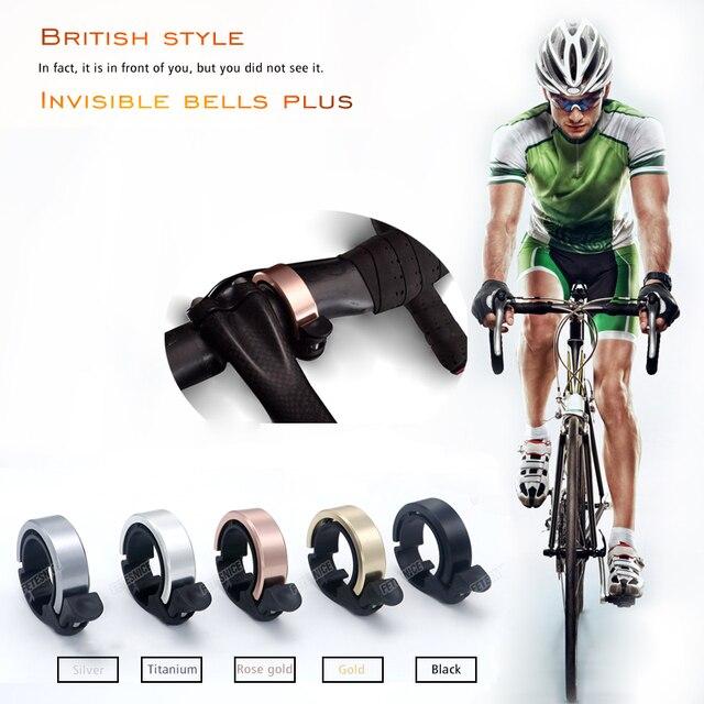 Onzichtbare racefiets bells plus 31.8mm Stuur Clamp Ring onzichtbare Gepatenteerde product Aluminiumlegering Milieu fietsbel