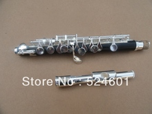 Manufacturers wholesale Students dedicated bakelite tube silver build piccolo the C flute instrument