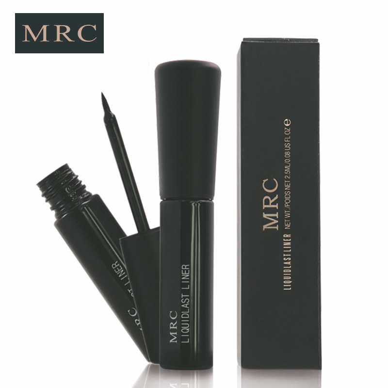 MRC Black Waterproof Long-lasting Liquid Eyeliner Makeup Cosmetic Tool free shipping 3 pp eyeliner liquid empty pipe pointed thin liquid eyeliner colour makeup tools pink black