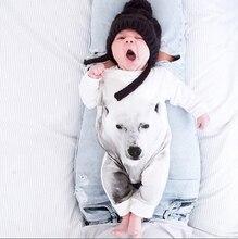 2016 Newborn Kids font b Baby b font Boy Girls Infant Bodysuit font b Clothes b