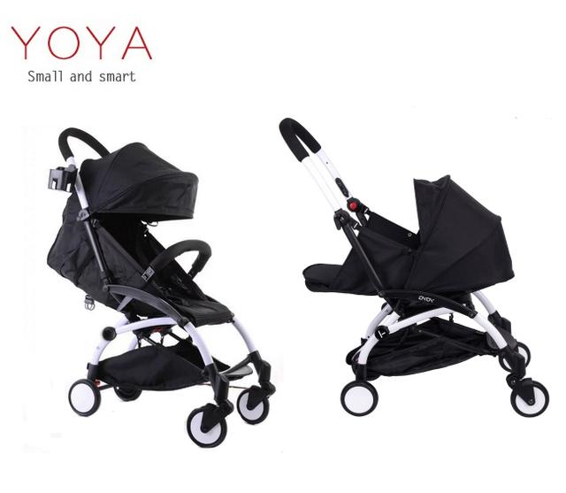 Yoya YOYA Bebé cochecitos de bebé importado portátil plegable paraguas coche cochecito de bebé puede sentarse puede mentir en el avión