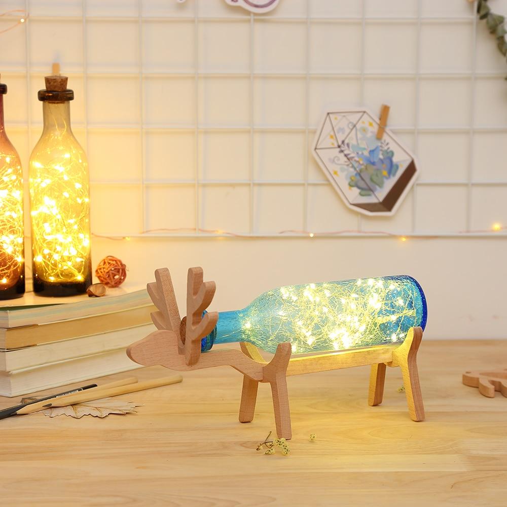 NEUE Kreative Feuer Baum Einfachen Nacht Nacht Lampe Romantische ...