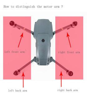 Image 2 - Originele Front Back Links Rechts Mavic Pro Motor Arm Met Kabel Onderdelen Dji Mavic Pro Arm Met Motor Reparatie accessoires (Gebruikt)