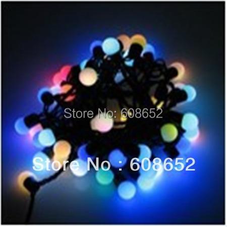 50 pcs LED bulb string  Lights & Lighting>>Outdoor Lighting>>Lighting Strings