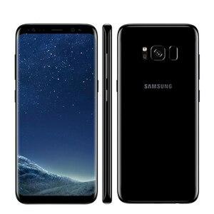 Image 3 - Original Unlocked Samsung Galaxy S8 Plus 4G RAM 64G ROM 6.2 inch Qualcomm Octa Core 4G LTE Mobile Phone Fingerprint Android 7.0