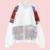 2017 Mujeres del Otoño Causal Bomber Jacket Nueva Doble X Bordado Neto de Graffiti Señoras de manga larga Más Tamaño Outwear