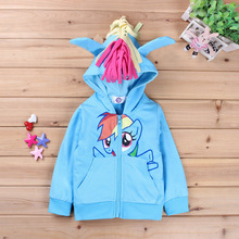 2016 autumn spring youngsters clothes animal hoodies character sweatshirts for child ladies winter garments