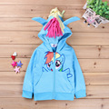 2016 autumn spring kids clothing animal hoodies character sweatshirts for baby girls winter clothes