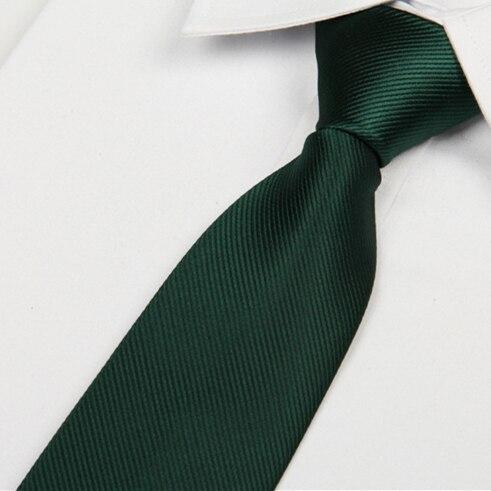 2020 Neck Ties 8 Cm Gentlemen's Fashion Casual Gravata Masculina Lotes Classic Tie Solid Color Plain Men's Necktie