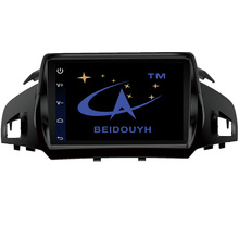BEIDOUYH Android Car Stereo GPS Navigation for Ford Kuga 2013-2017 Car Radio Support Bluetooth/WiFi/CAN-BUS/DVR/RDS/rear view