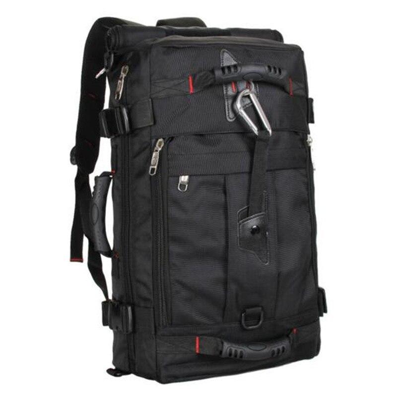 Outdoor Men's bag new nylon black Tactica backpack mochila notebook laptop high grade large capacity backpack leisure laptop bag цена 2017