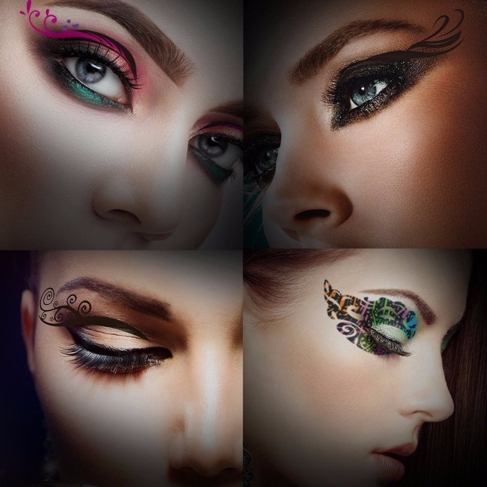 Temporary Eyelid Tattoo Makeup
